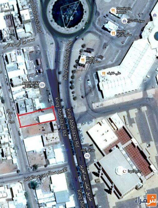 أرضين متظاهرتين بشقراء على طريق الملك عبد العزيز بجوار محطة البيز