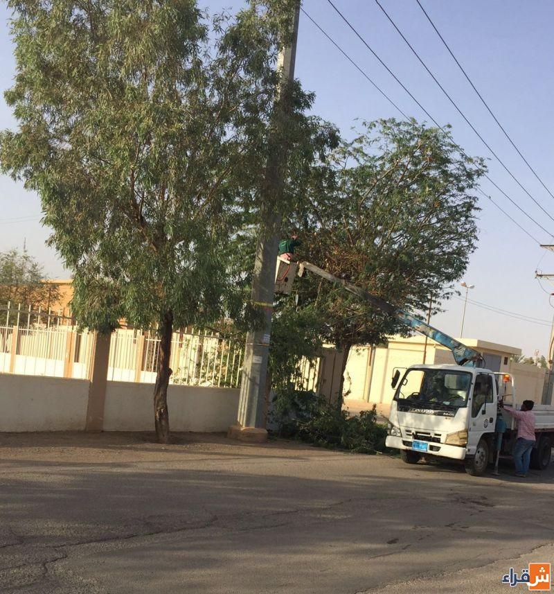 بلدية شقراء تنهي اجراءات النظافة لمصلى العيد