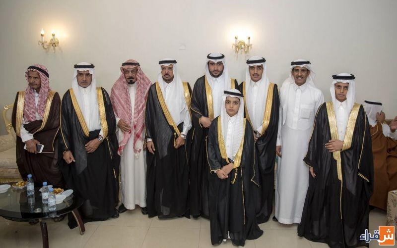 الشاب بندر بن عبدالرحمن الجماز يحتفل بزواجه