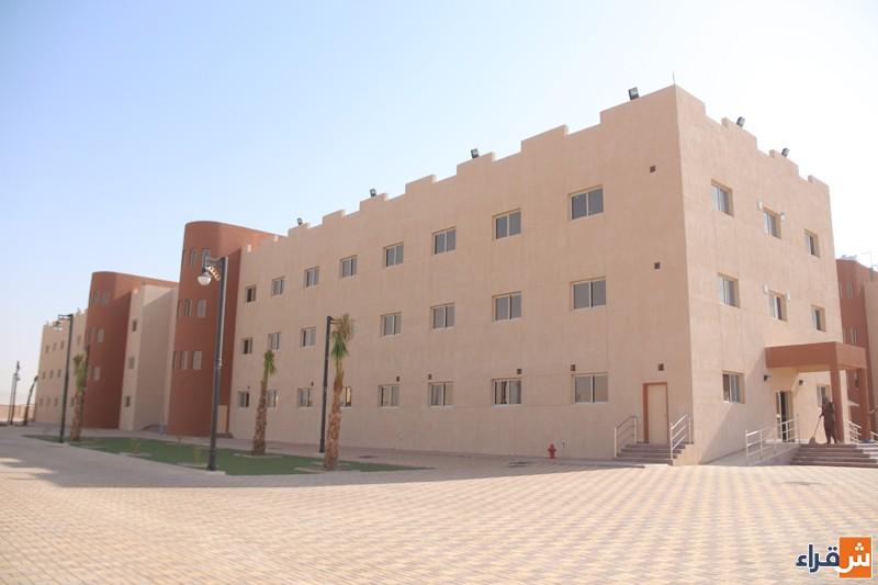 منسوبات كلية العلوم والدراسات الإنسانية بضرماء يعربن عن مشاعرهن بتدشين المبنى الجديد
