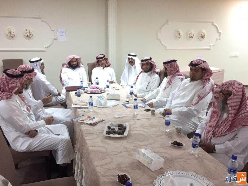 مجلس أهالي شقراء يدعم لجنة التنمية للنهوض ببرامجها الاجتماعية