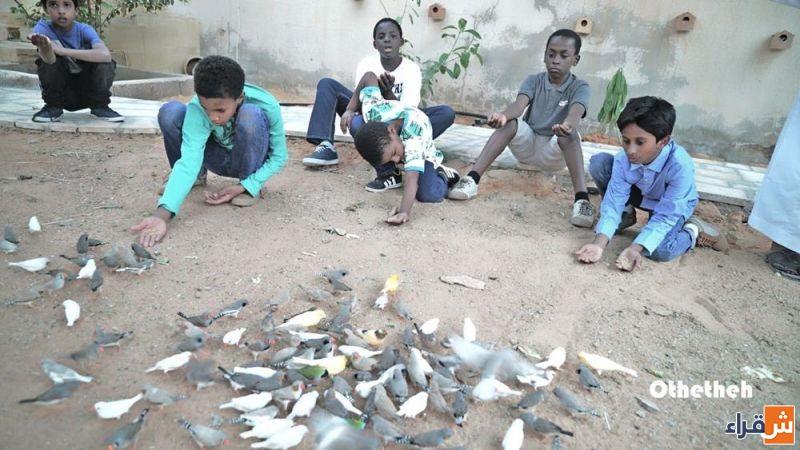 محمية الوشم للطيور بمدينة أثيثية تفتح أبوابها للزوار