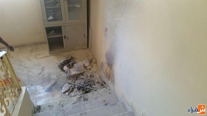 مشرفات تعليم شقراء يخمدن حريقا بسيطا نشب في أوراق وملفات قديمة