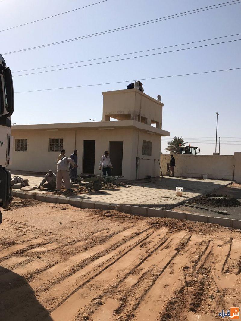 بلدية شقراء تجهز المقبرة الجديدة  بإشراف من مجلسها البلدي