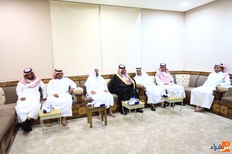 بأمر الملك .. رئيس مركز أشيقر يستقبل البيعة نيابة عن الأمير محمد بن سلمان