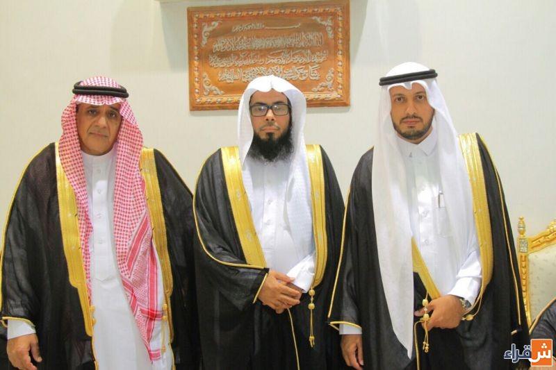 الشاب عبدالعزيز المقحم يحتفل بزواجه