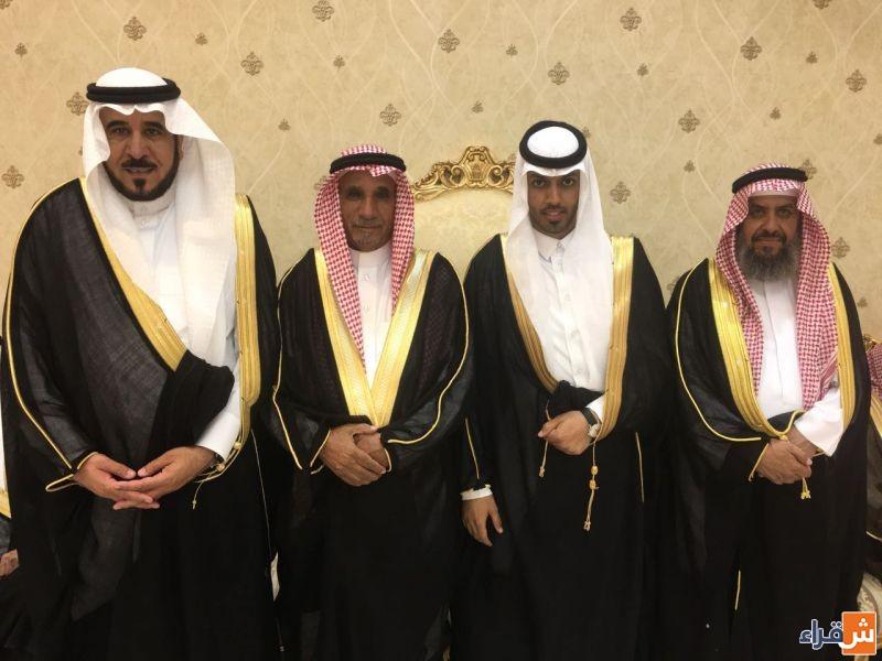 الشاب مازن بن عبدالرحمن الزاحم يحتفل بزواجه