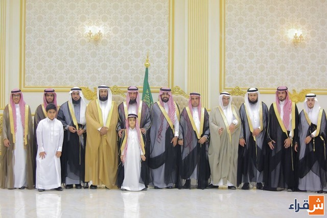 الشاب نايف صالح الحبيل يحتفل بزواجه