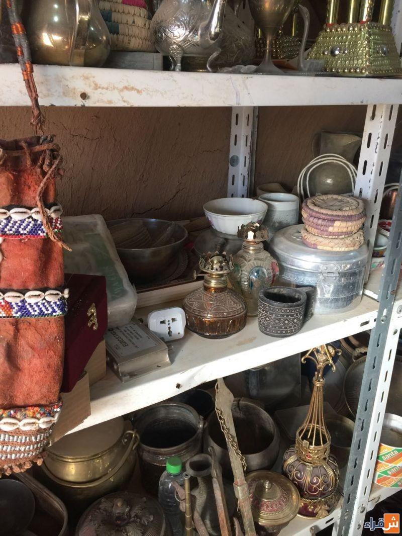 الحراج على محل تراثي بسوق حليوة بشقراء