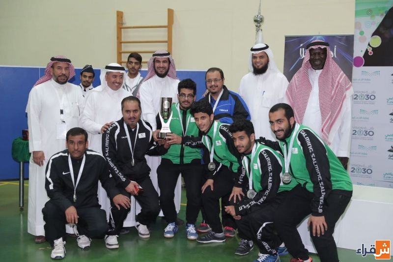 ختام بطولة الاتحاد الرياضي للجامعات السعودية في لعبة كرة الطاولة والمنعقدة بجامعة شقراء