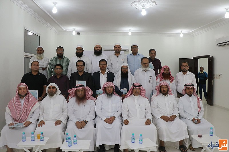 جمعية تحفيظ القرآن الكريم بشقراء تقيم تكريما لبعض الحلق التابعه لها