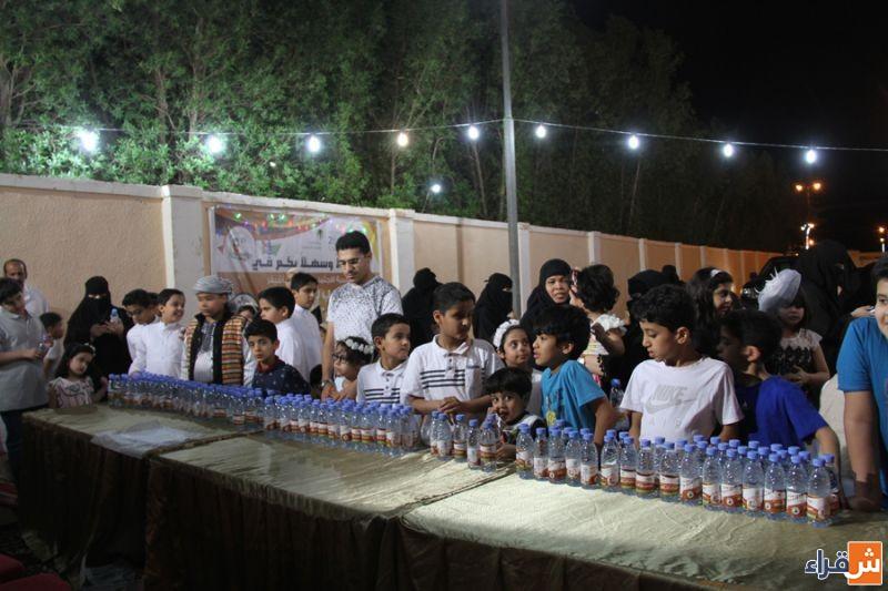 ابتسامة وبهجة الأطفال في مهرجان الحلاوي بأشيقر