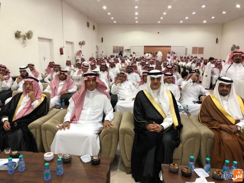 محافظ شقراء يشرف احتفال أهالي الحريّق بالوشم بمناسبة عيد الفطر المبارك