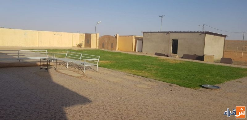 للبيع استراحة قائمة في حي المطار بشقراء (مخطط المحيميد)