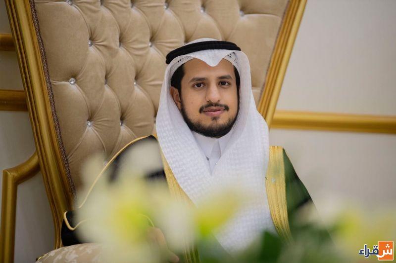 الشاب بدر المهنا يحتفل بزواجه على كريمة عبدالله المهنا