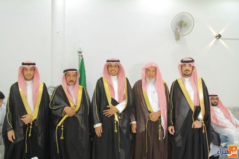 الشاب عبدالرحمن بن أحمد الراشد يحتفل بزواجه