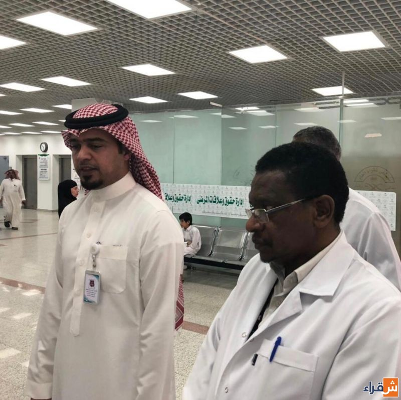 برنامج فحص ماقبل الزواج  بمستشفى شقراء العام يقيم فعاليات اليوم التوعوي عن التهاب الكبد الفيروسي