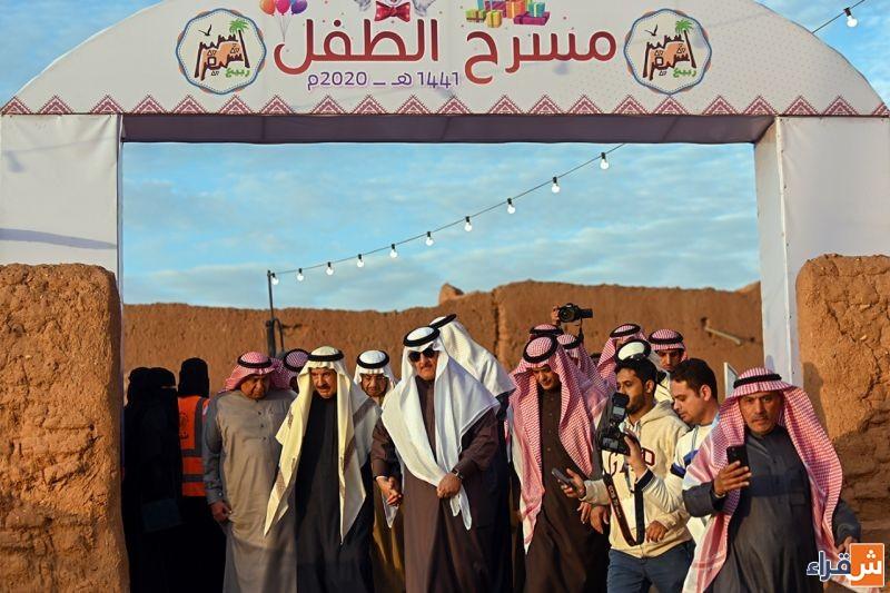 انطلاق مهرجان ربيع أشيقر بحضور محافظ شقراء