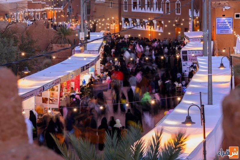 مهرجان ربيع أشيقر يحظى بزيارة المسؤولين، ونادي الحي يشارك بالمهرجان الرياضي للألعاب الحركية