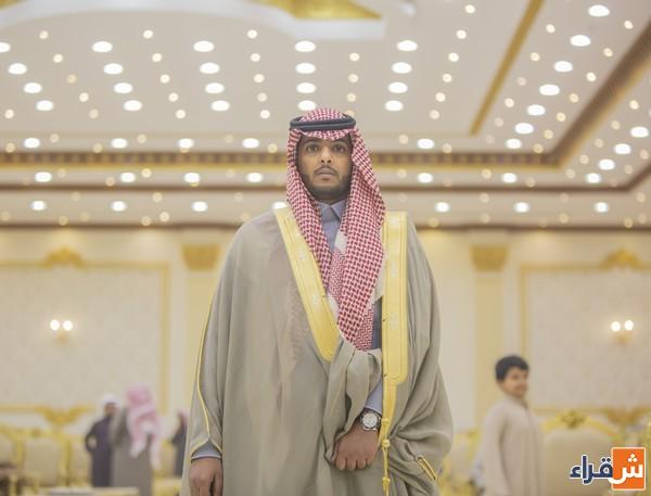 الشاب أحمد بن مطلق الرويس يحتفل بزواجه