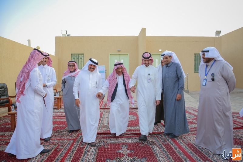 الشيخ حمد الجميح يزور مستشفى شقراء