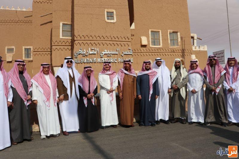 الأمير سعود بن نايف يزور قصر السبيعي التاريخي في شقراء