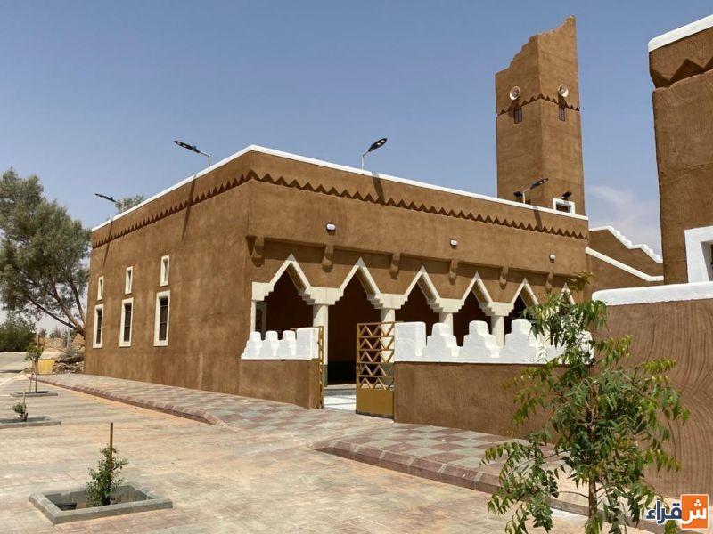 افتتاح المسجد الشمالي في البلدة التاريخية بشقراء بعد إعادة بنائه
