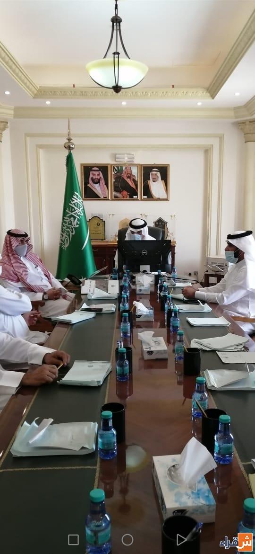 محافظ شقراء يستقبل مدير عام فرع وزارة البيئة والمياه والزراعة بمنطقة الرياض