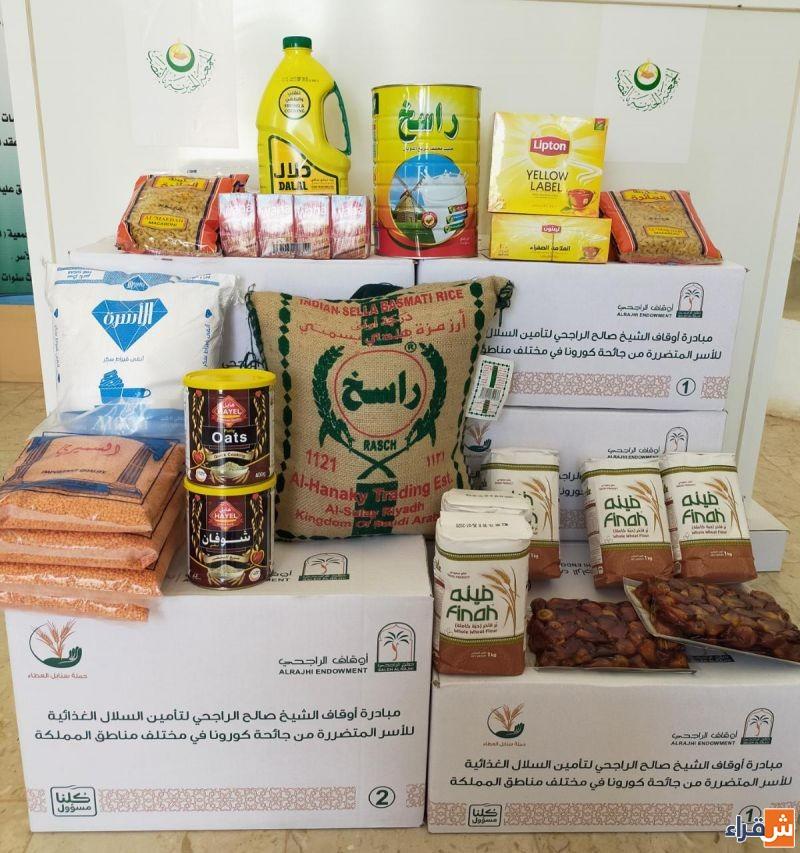 جمعية القصب الخيرية تقدم مئة ألف ريال لـ ٧٢ يتيمًا، وبطاقات شرائية وسلال غذائية للمستفيدين من خدماتها.