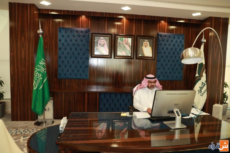 السيف يرأس اجتماع مجلس جامعة شقراء الثاني