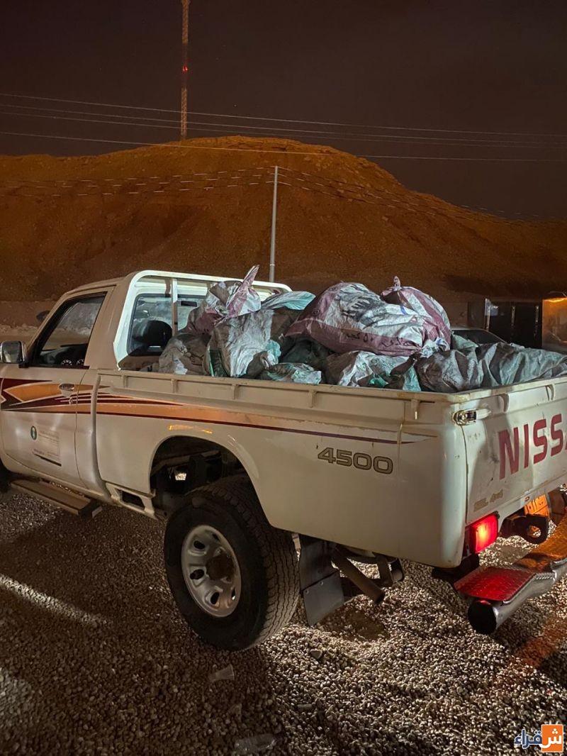 ضبط مكتب وزارة البيئة والمياه والزراعة محافظة شقراء كميات من الحطب المحلي والفحم المحلي المستخدم في النشاط التجاري