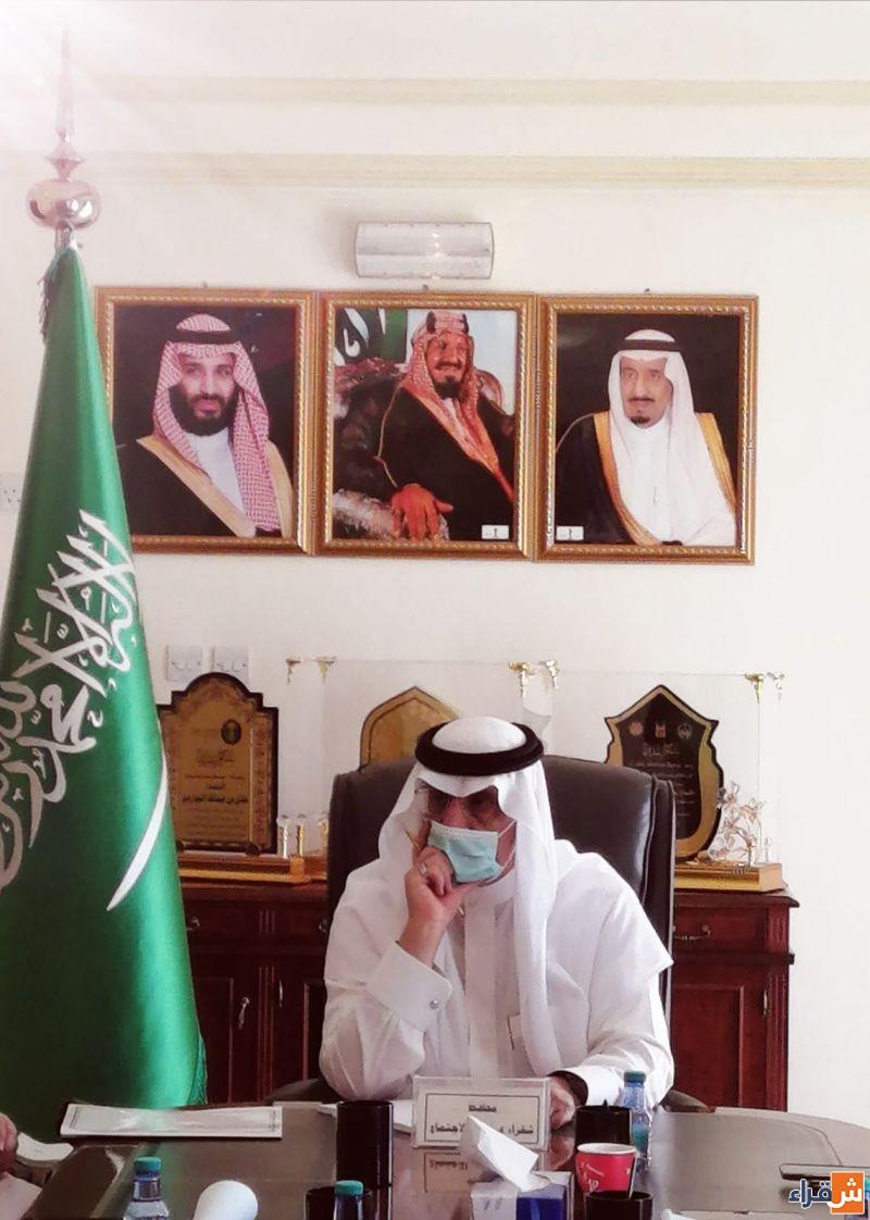 محافظ شقراء يستقبل لجنة تقييم برنامج المدن الصحية بمنطقة الرياض