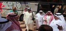 وفد من إعلاميين وإعلاميات مجلس الغرف السعودية في أشيقر