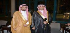 رجلي الأعمال سامي الطويل وعبدالرحمن الخراشي يدعمان نادي الوشم بـ 190 ألف ريال