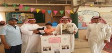 مدرسة الشيخ القرعاوي بالرياض تكرم الطالب المهنا