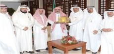 مدير جامعة الإمام يبحث مع مدير جامعة شقراء التعاون والشراكة بين الجامعتين
