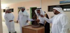 محافظ شقراء يقوم بجولة على المدارس في أول يوم دراسي برفقة مدير التعليم