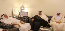 محافظ شقراء يزور الشيخ / محمد المانع