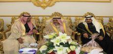 الأستاذ عبدالله بن هاجد يحتفل بزواجه بحضور الأمير بندر بن محمد آل سعود