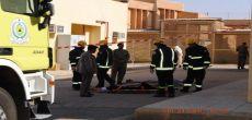 إخلاء نزلاء سجن شقراء في وقت قياسي أثناء تنفيذ خطة الإخلاء