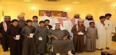 """الشيخ محمد المانع يستقبل أبناء جمعية """"إنسان"""" في منزله"""