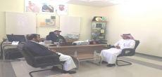 مدير مكتب العمل بشقراء يعقد اجتماع مع مدير المعهد الصناعي الثانوي لمناقشة إمكانية  تدريب السعوديين في 4 مجالات مهنية وتقنية إنفاذاً لقرار توطين قطاع الاتصالات