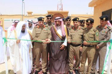 مدير مرور الرياض اللواء محمد البقمي يفتتح قسم السير بمرور محافظة مرات