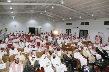إفتتاح مجمع الشيخ دخيل بن ابراهيم الحميضي الخيري لتحفيظ القران الكريم بالقصب