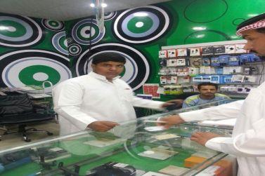 مكتب العمل بشقراء ينفذ حملات تفتيشية على محال الاتصالات