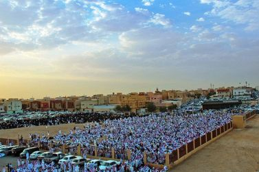 مواعيد إقامة صلاة العيد في منطقة الوشم