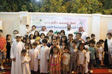 التحلوي في أشيقر .. حين يطرق الأطفال أبواب الفرح ابتهاجًا بالعيد