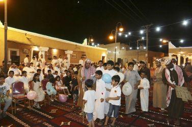 بلدية القصب تقيم مهرجان القرية التراثية