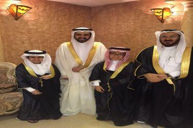 الشاب إبراهيم الرشيد يحتفل بزواجه