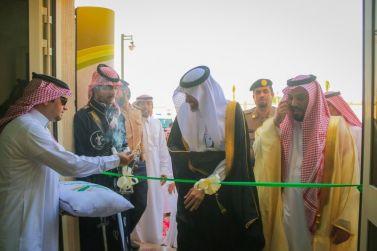 """مدير الجامعة """"د. الشيحة"""" يدشن مبنى كلية العلوم والدراسات الإنسانية بمحافظة ضرماء"""